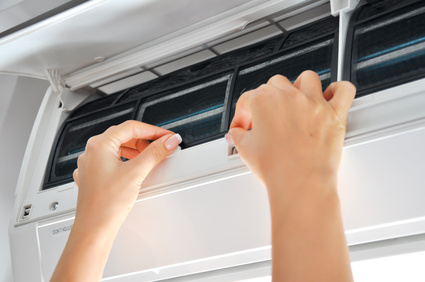 Cleaning air conditioner filters